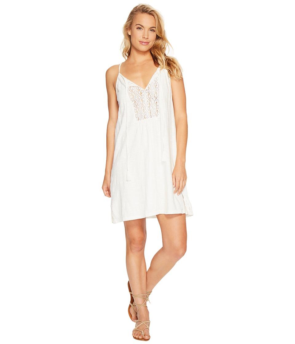 Roxy - Black Water Dress (Marshmallow) Women's Dress