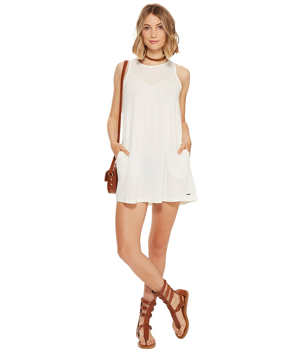 Roxy - Dust Moves Faster Dress (Marshmallow) Women's Dress