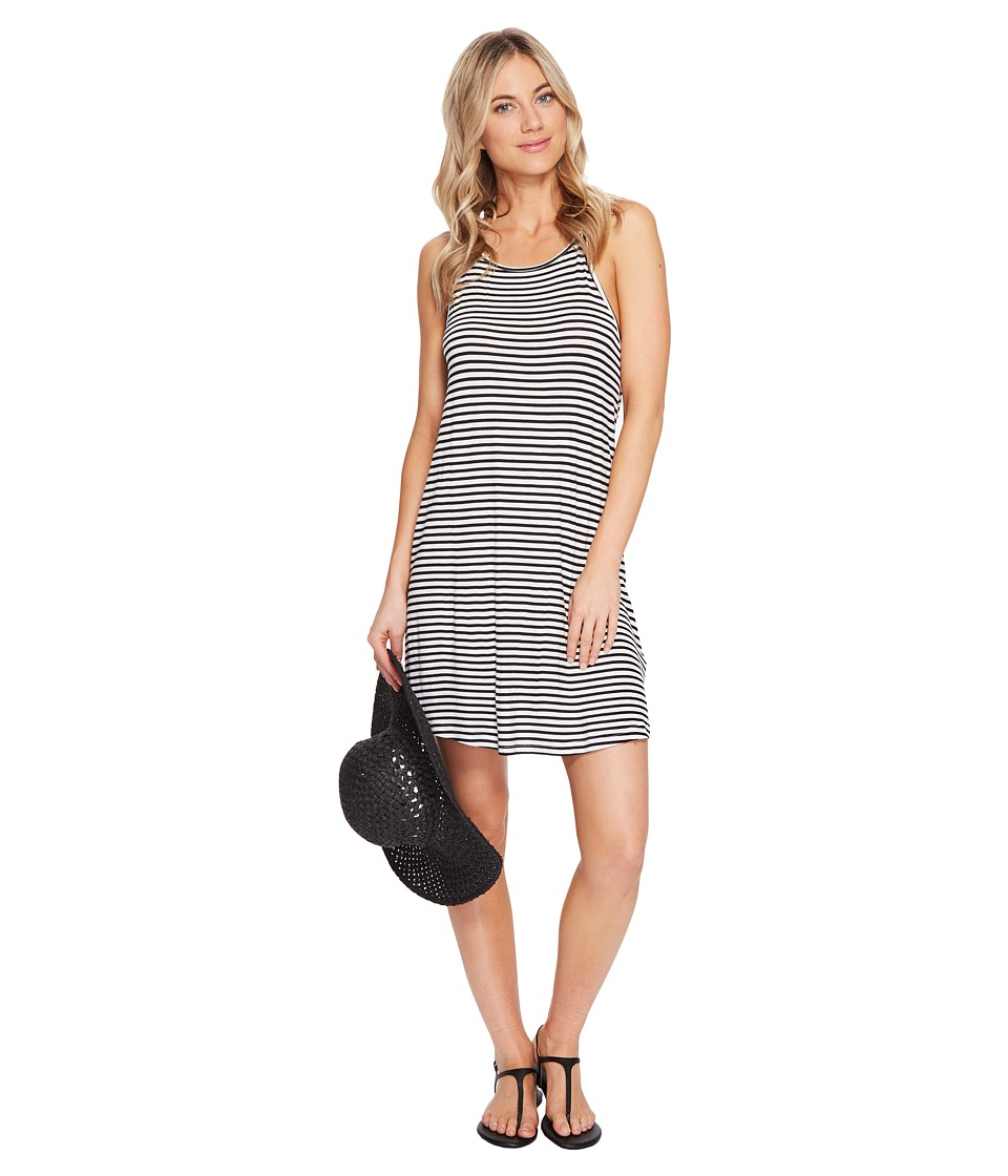Roxy - I Did Didn't Stripe Dress (Marshmallow Classic Stripe) Women's Dress