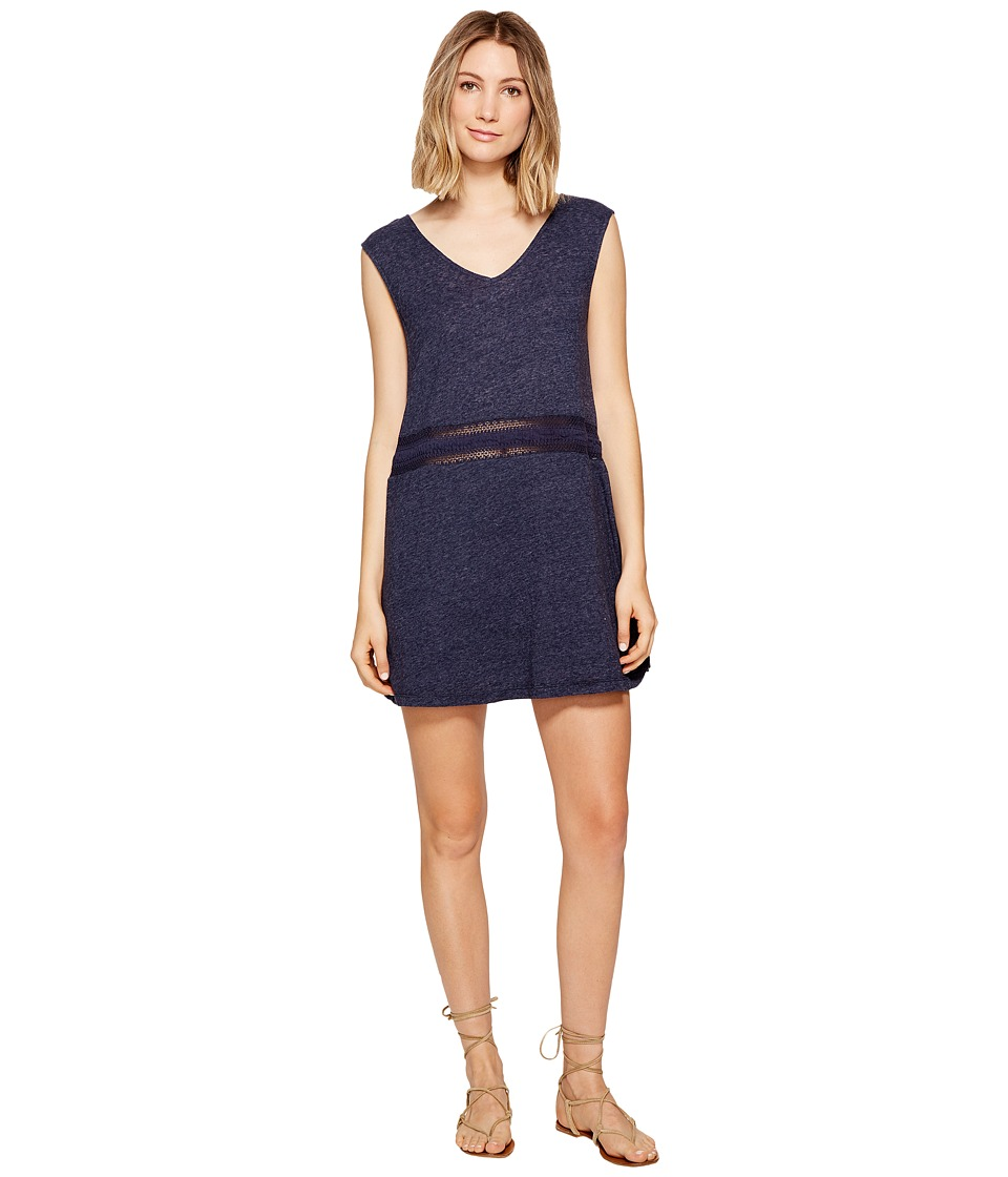 Roxy - Tables Turns Dress (Dress Blues) Women's Dress