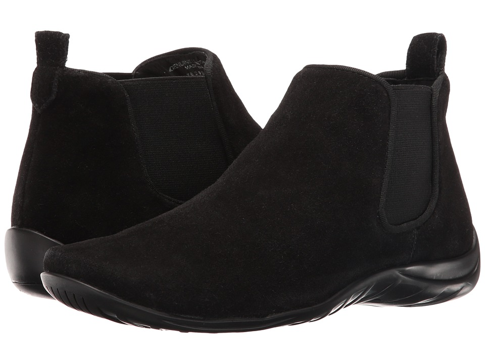 Walking Cradles Ante (Black Suede) Women