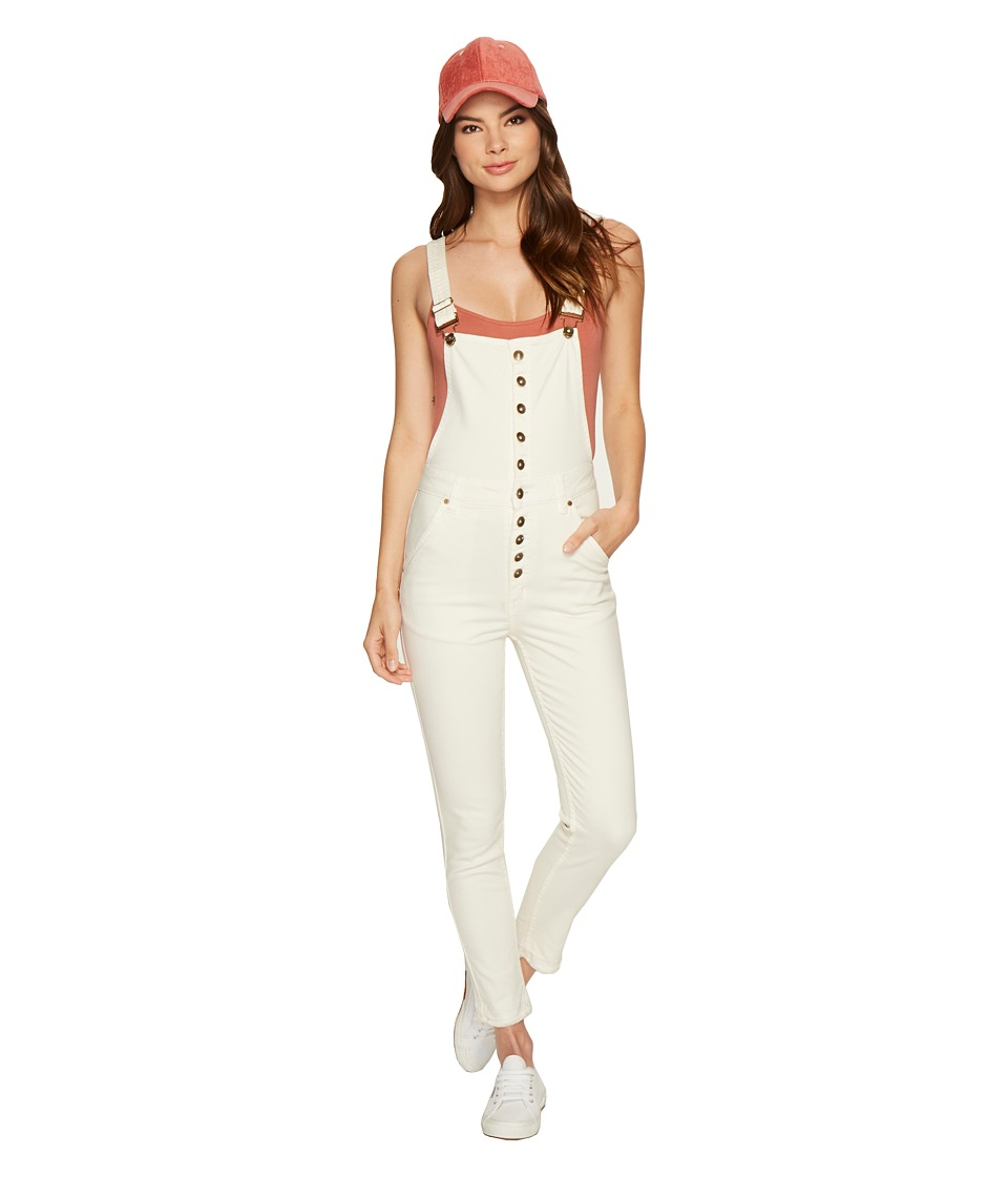 O'Neill - Archie Overalls (Bone White) Women's Overalls One Piece