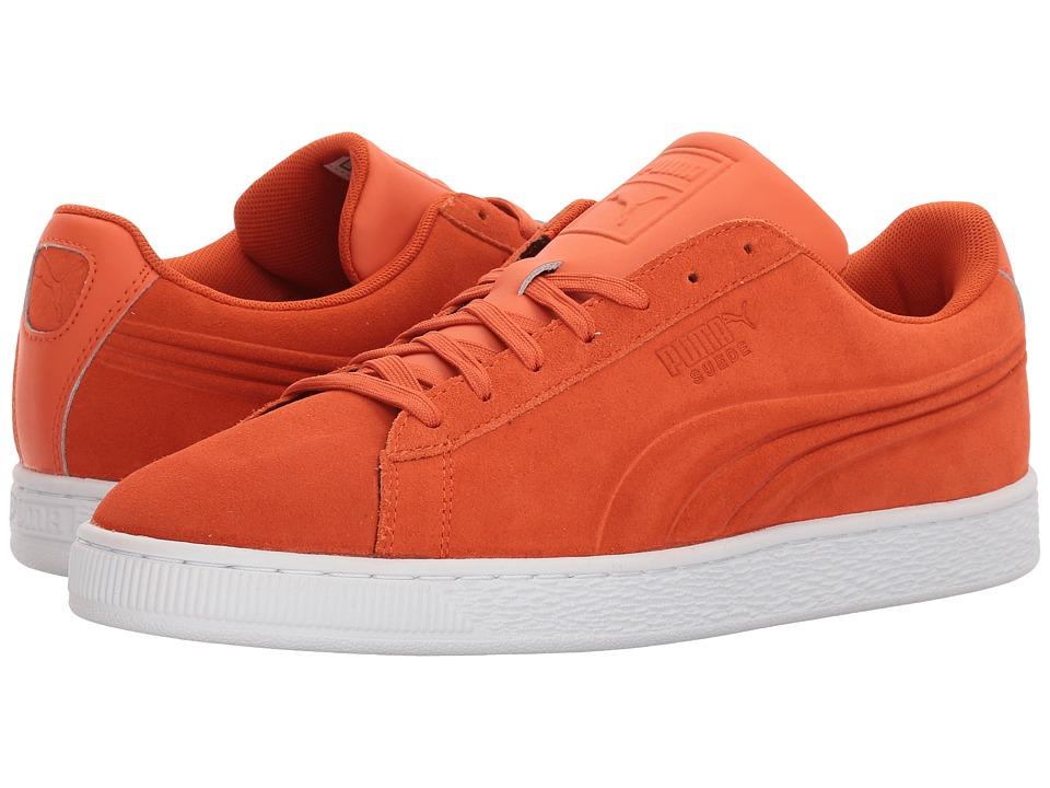 PUMA - Suede Classic Embossed (Koi) Men's Shoes