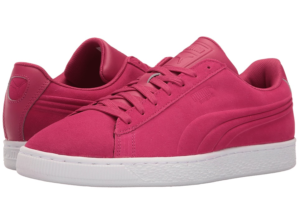 PUMA - Suede Classic Embossed (Vivacious) Men's Shoes