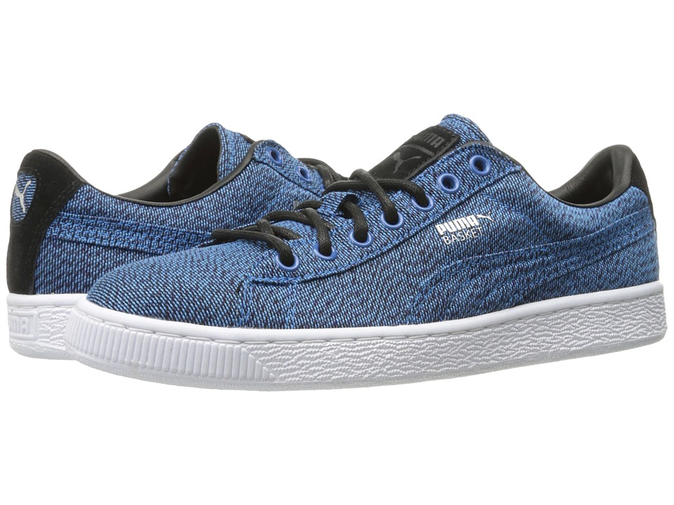 PUMA Basket Classic Culture Surf (French Blue/Puma Black) Men