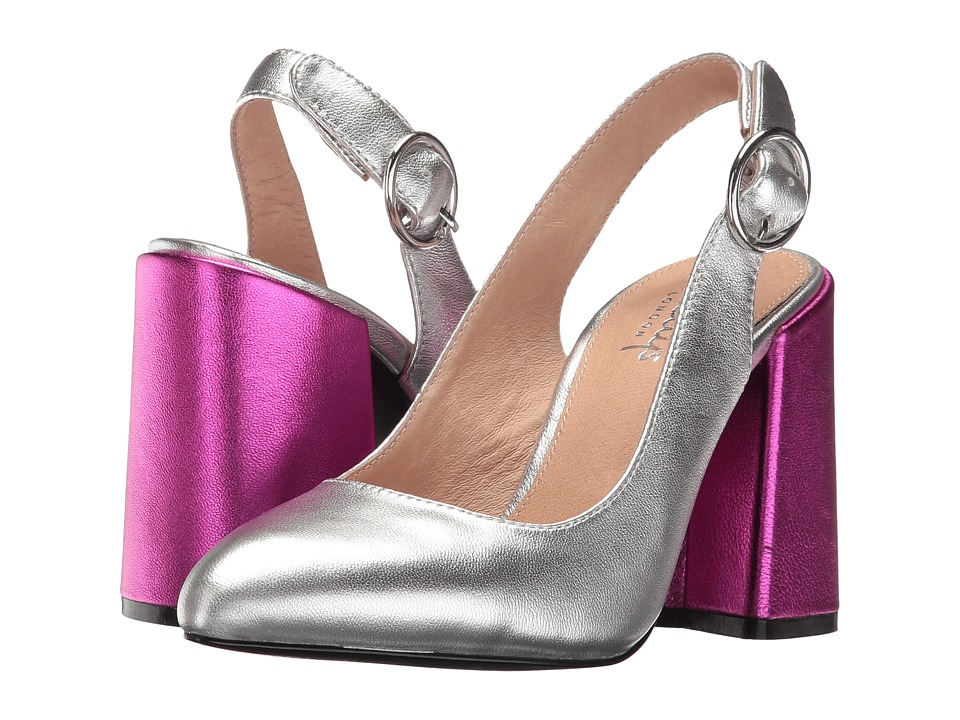 Shellys London - Chester (Silver Leather) High Heels