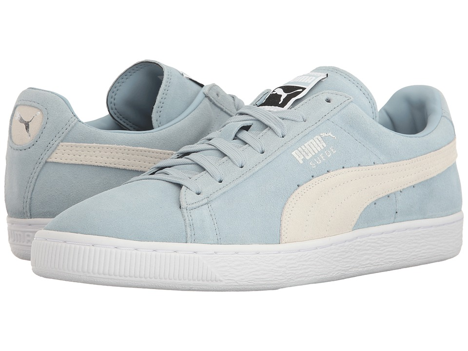 PUMA - Suede Classic + (Natural Vachetta/Puma White) Men's Shoes
