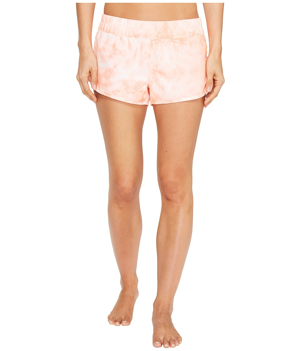 Hurley - Supersuede Tie-Dye Beachrider Bottoms (Atomic Pink) Women's Swimwear