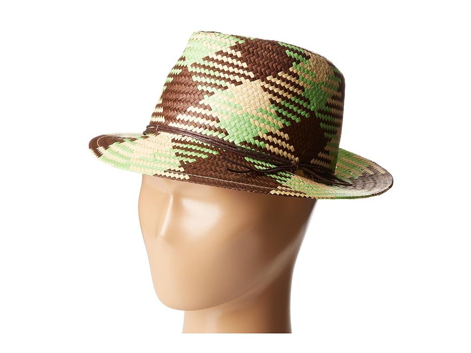 San Diego Hat Company Kids - PBK6525 Paper Fedora Hat (Toddler/Little Kids/Big Kids) (Multi) Fedora Hats