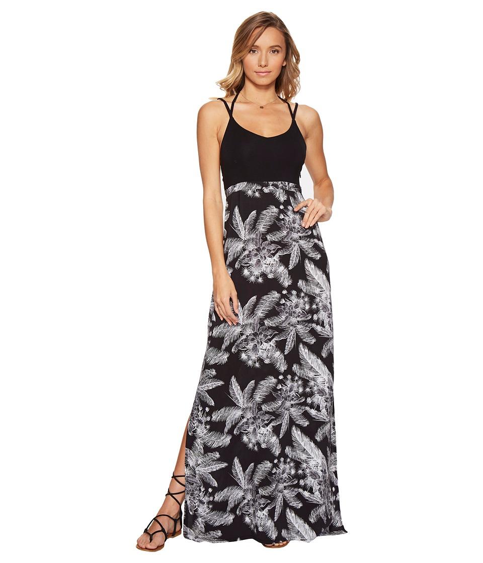Hurley - Ruby Maxi Dress (Black L) Women's Dress