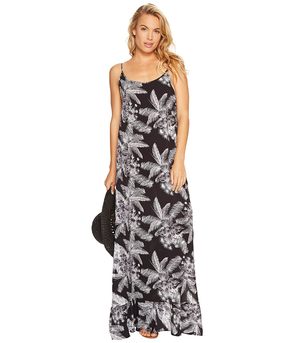 Hurley Rio Maxi Dress (Black L) Women