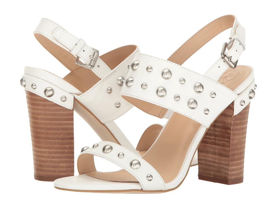 GUESS - Cheree (White) High Heels