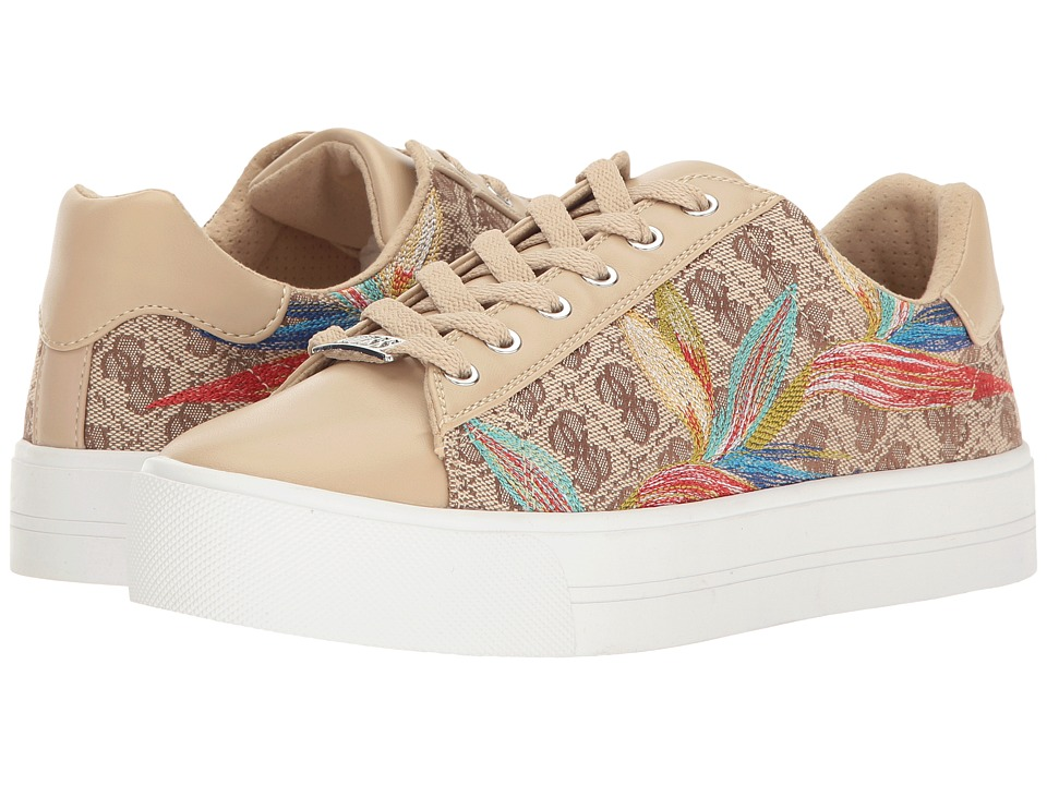 GUESS - Deesa (Beige) Women's Lace up casual Shoes