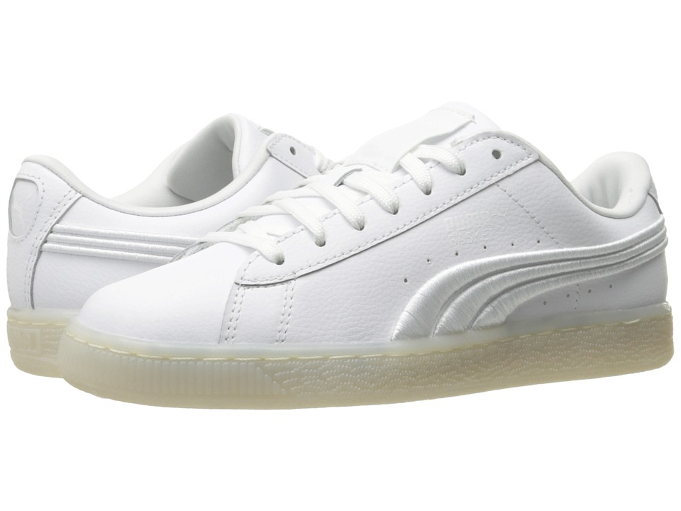 PUMA - Basket Classic Badge Iced (Puma White) Men's Shoes