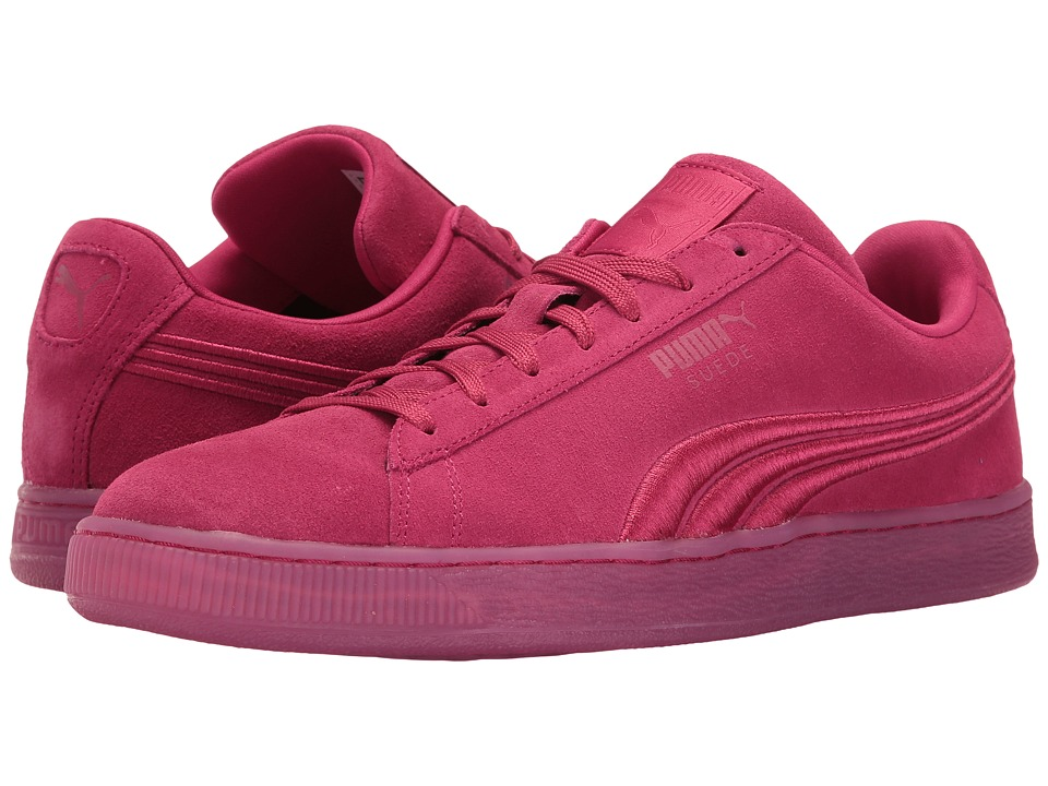 PUMA - Suede Classic Badge Iced (Vivacious) Men's Shoes