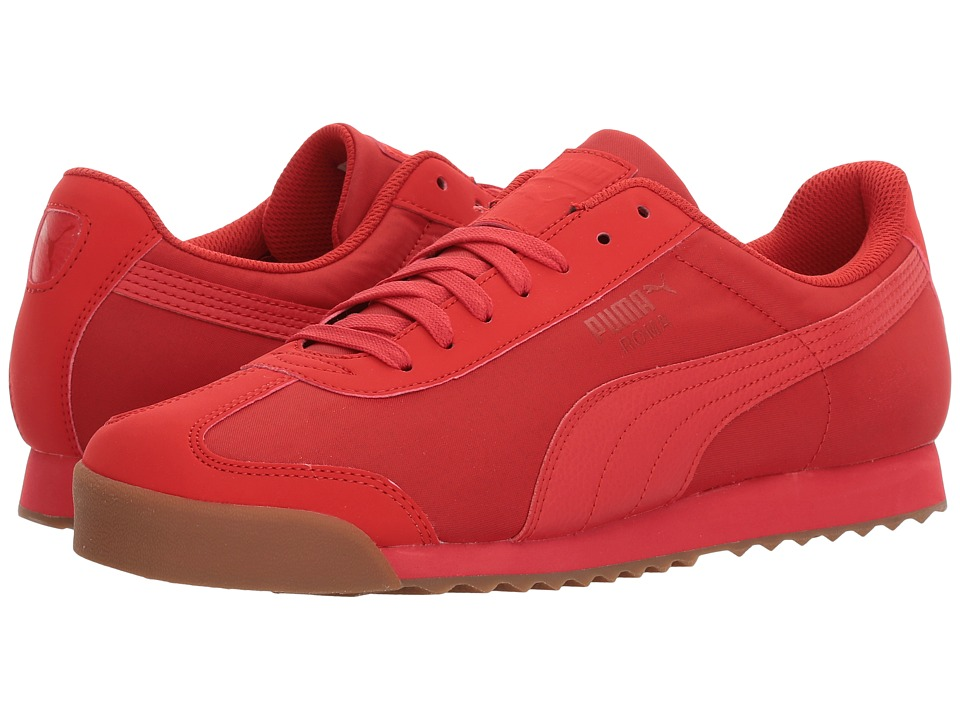 PUMA - Roma Basic Summer (High Risk Red) Men's Shoes