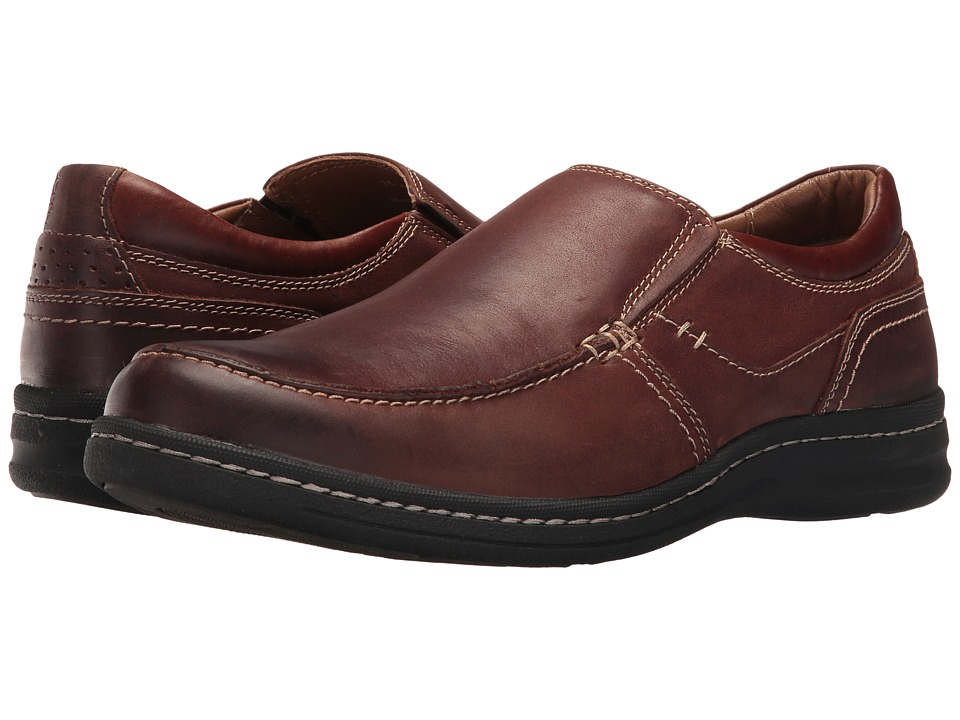 Johnston & Murphy - McCarter Slip-On (Brown) Men's Shoes