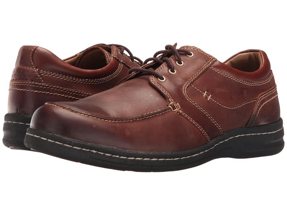 Johnston & Murphy - McCarter Lace (Brown) Men's Shoes