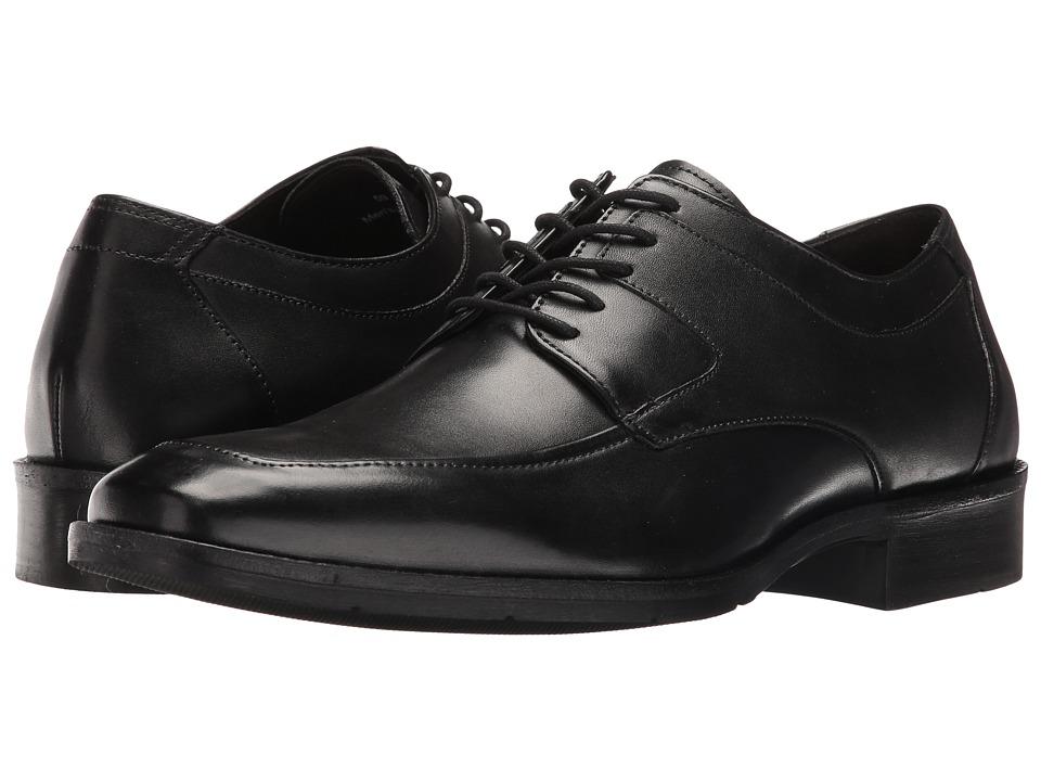 Johnston & Murphy - Landrum Moc Lace (Black) Men's Shoes