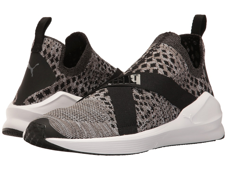 PUMA - Fierce Evoknit (Puma Black/Puma White) Women's Shoes