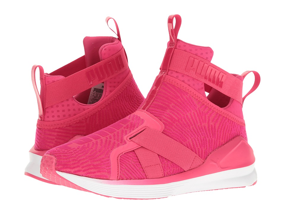 PUMA - Fierce Strap Flocking (Sparkling Cosmo/Sparkling Cosmo) Women's Shoes