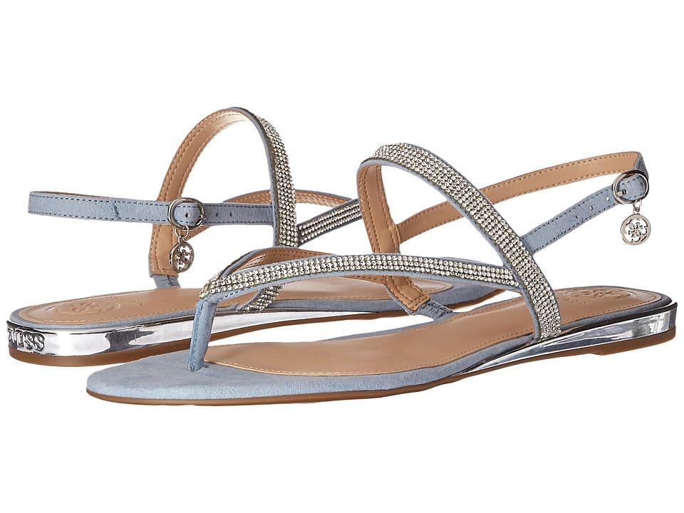GUESS - Jabel (Light Blue) Women's Dress Sandals