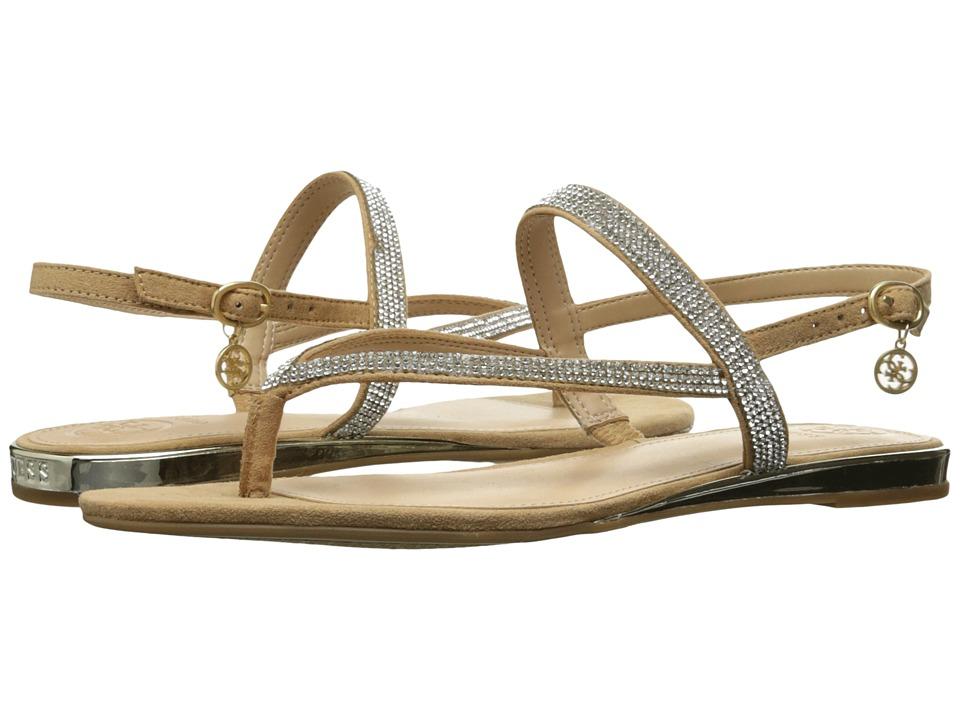 GUESS - Jabel (New Nude) Women's Dress Sandals