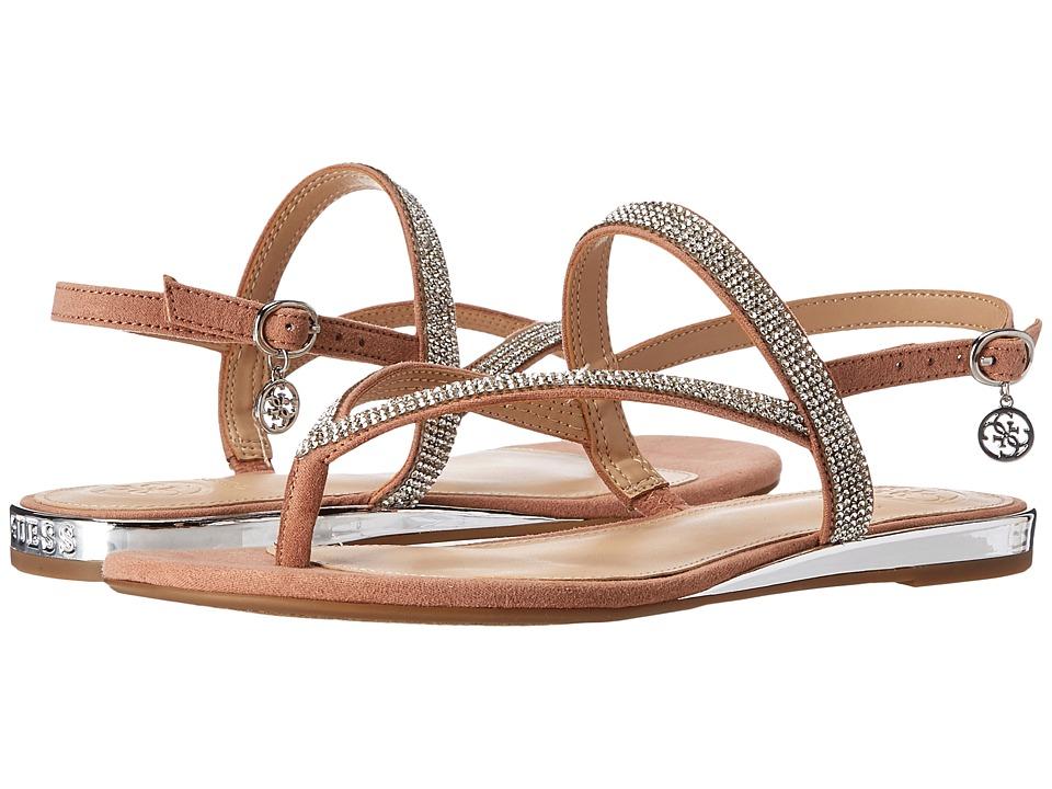 GUESS - Jabel (Light Pale Rust Pink) Women's Dress Sandals