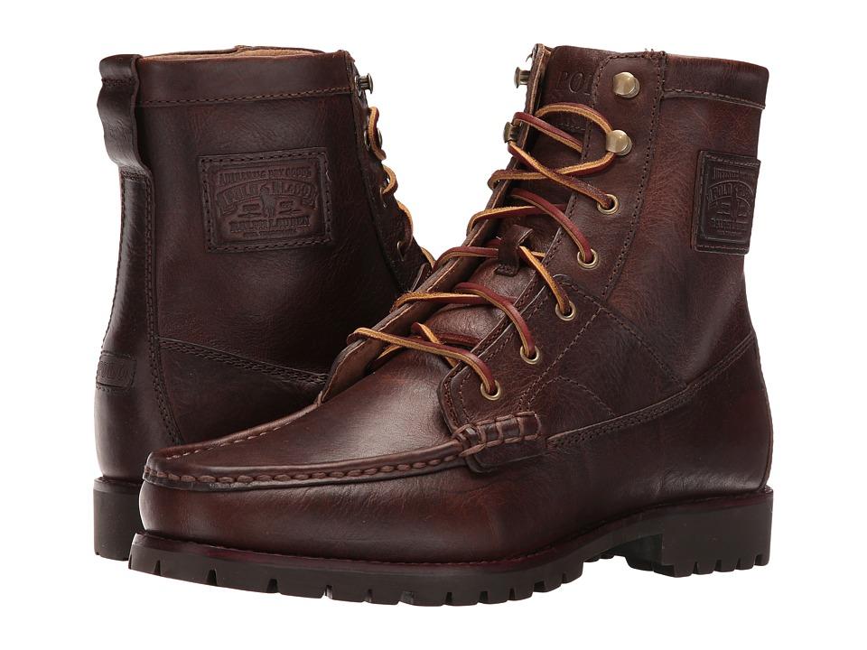 Polo Ralph Lauren - Rouland (Dark Tan) Men's Shoes