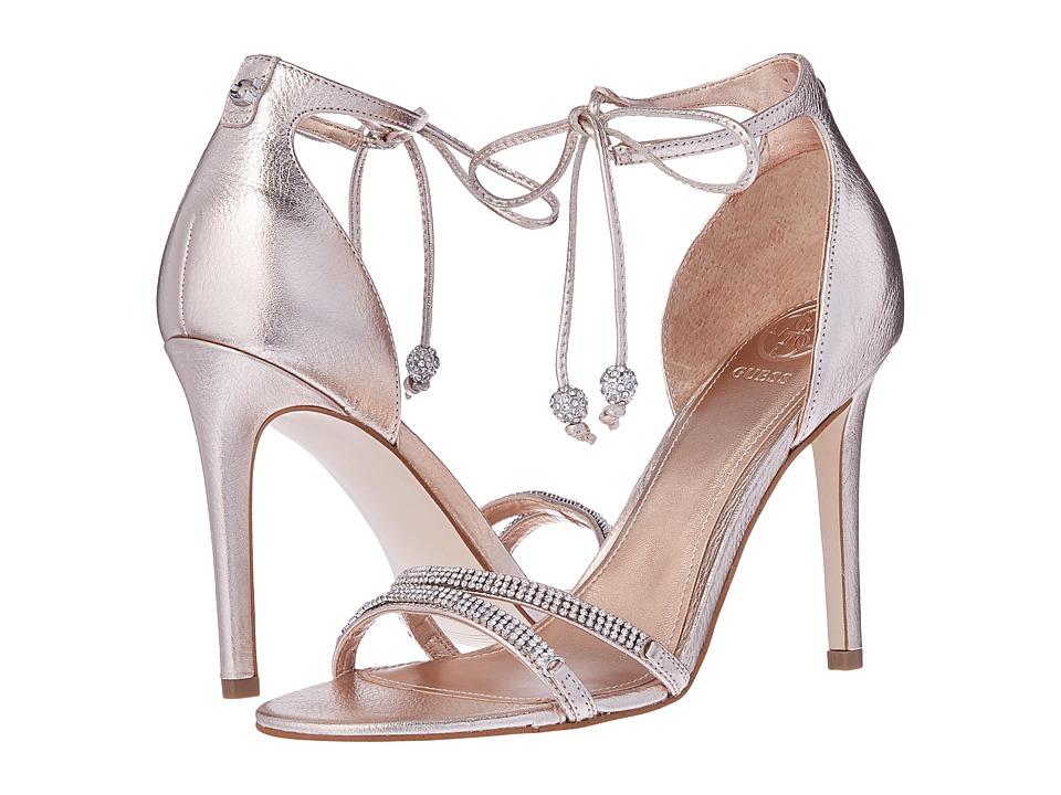GUESS - Peri (Peach/Rose Gold) High Heels
