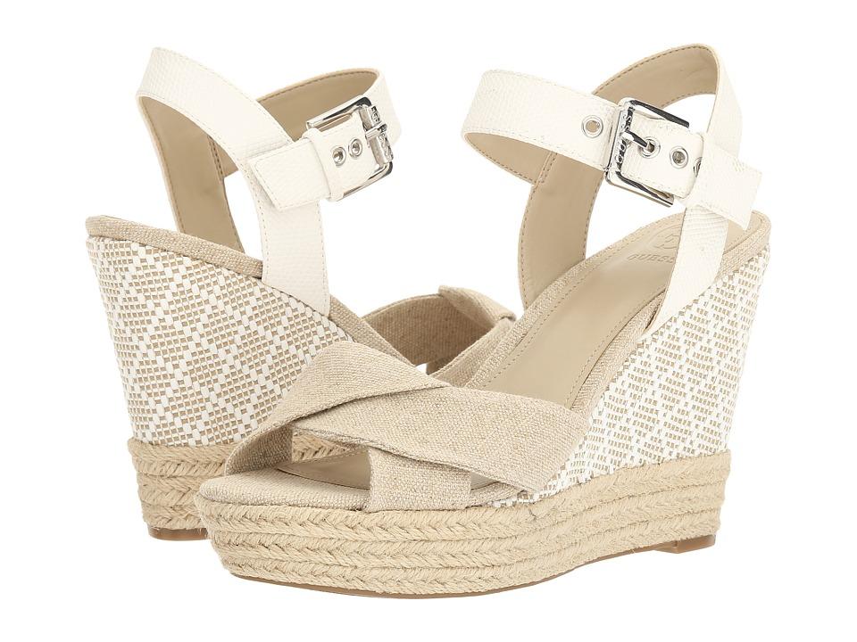 GUESS - Sanda (Natural) Women's Wedge Shoes