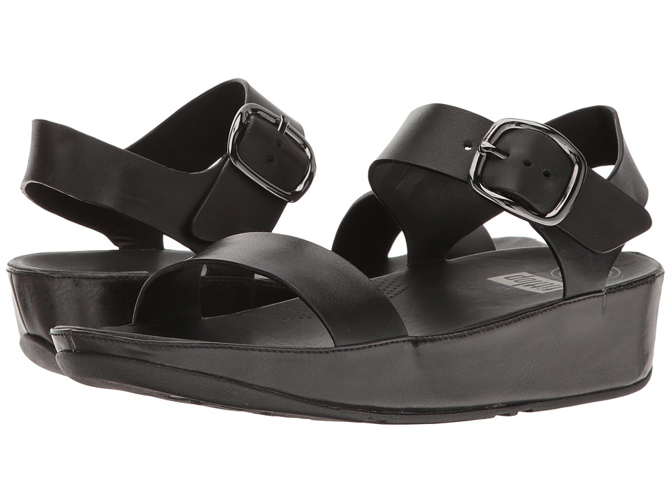FitFlop - Bon Sandal (All Black) Women's Shoes