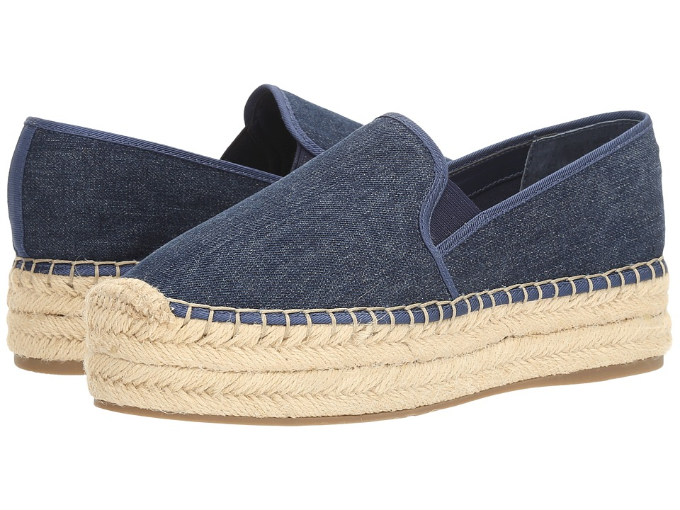 GUESS - Tava (Blue) Women's Slip on Shoes