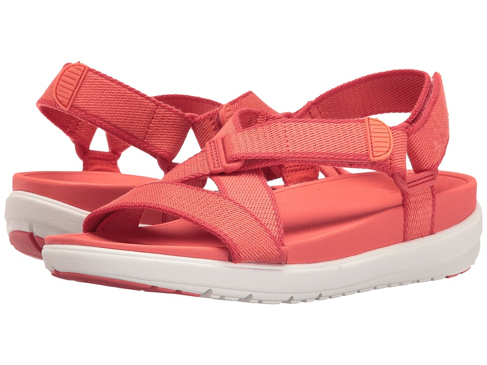 FitFlop - Sling Sandal II (Hot Coral/Shell Pink) Women's Shoes