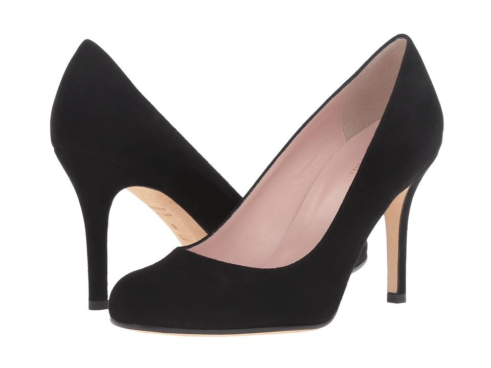 Kate Spade New York - Karolina (Black Suede) Women's Shoes