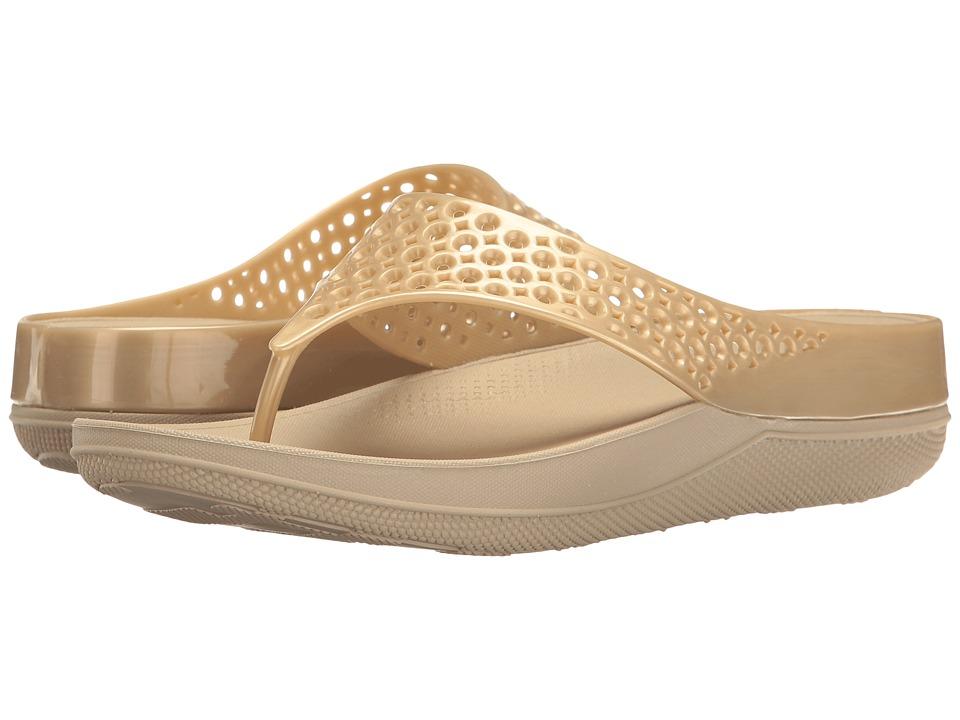 FitFlop - Ringer Welljelly Flip-Flop (Nude) Women's Sandals