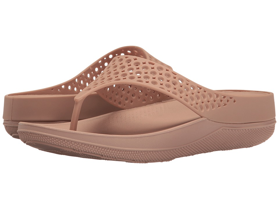 FitFlop - Ringer Welljelly Flip-Flop (Nude) Women's Sandals