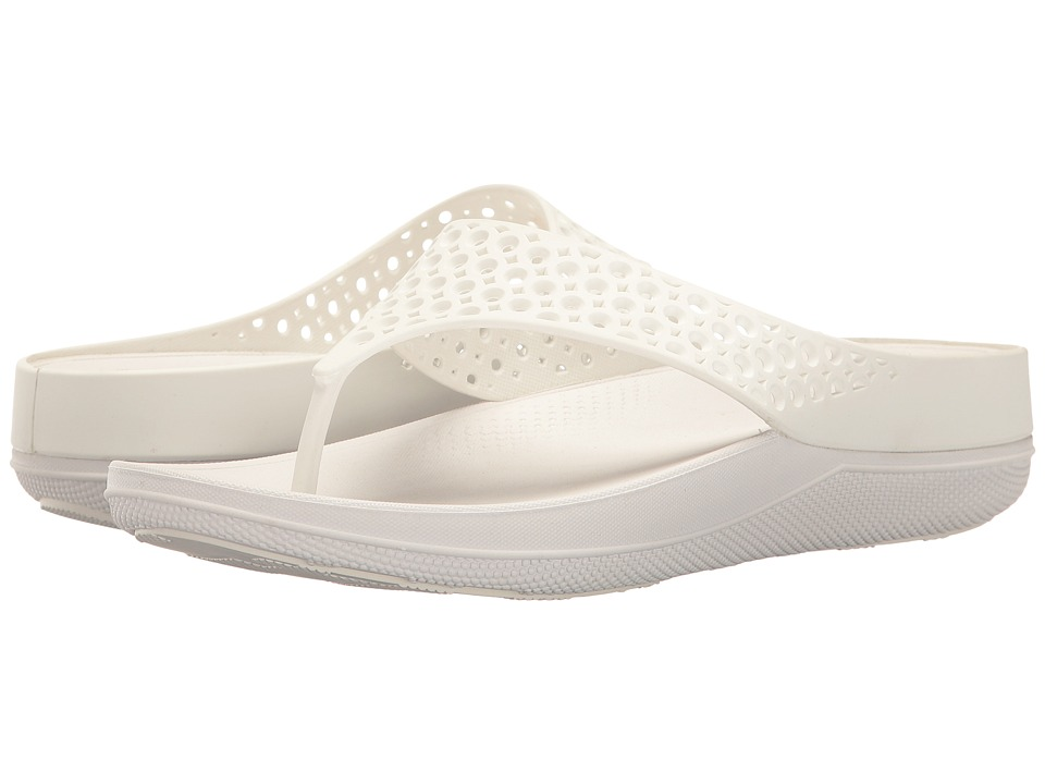 FitFlop - Ringer Welljelly Flip-Flop (Urban White) Women's Sandals