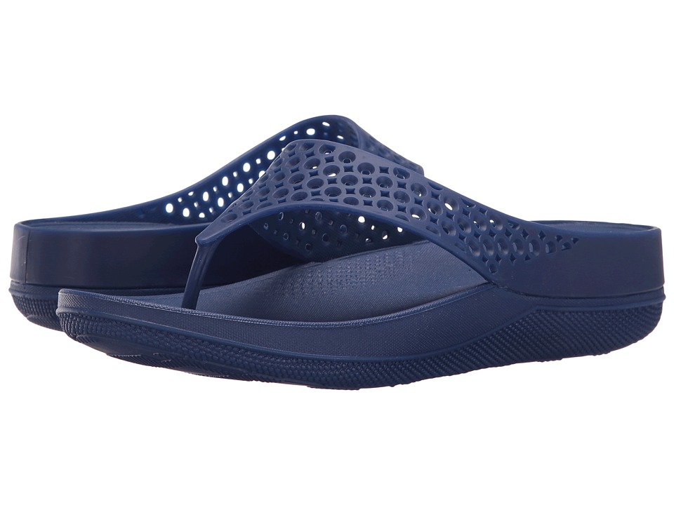 FitFlop - Ringer Welljelly Flip-Flop (Mazarine Blue) Women's Sandals