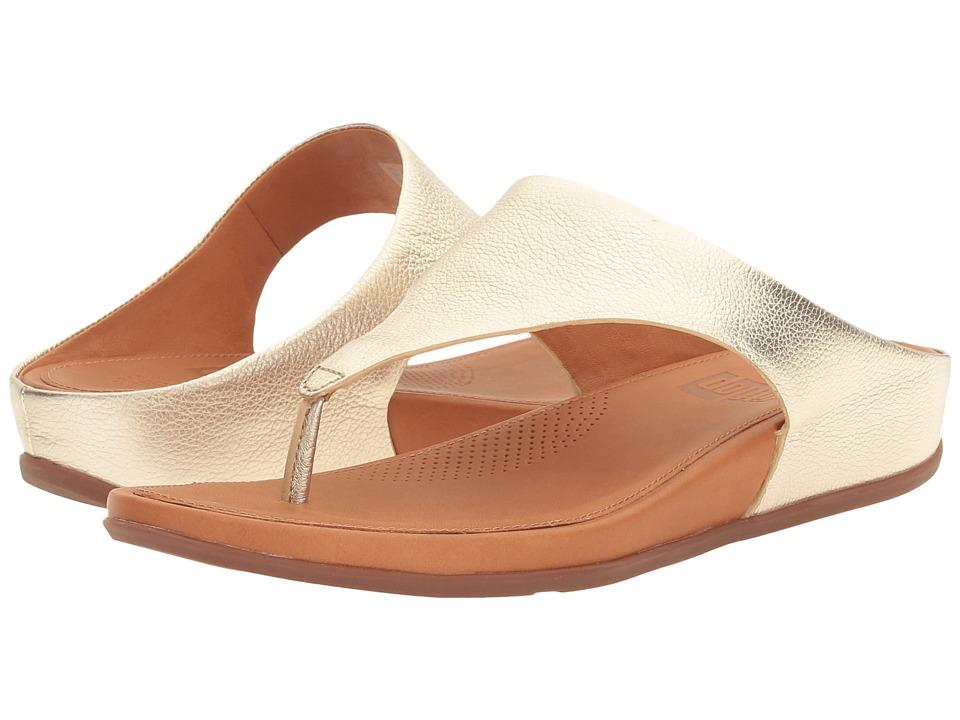FitFlop - Bandatm (Pale Gold) Women's Shoes
