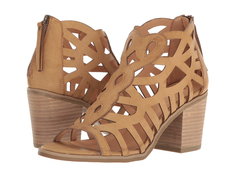 Report - Florette (Dark Tan Synthetic) High Heels