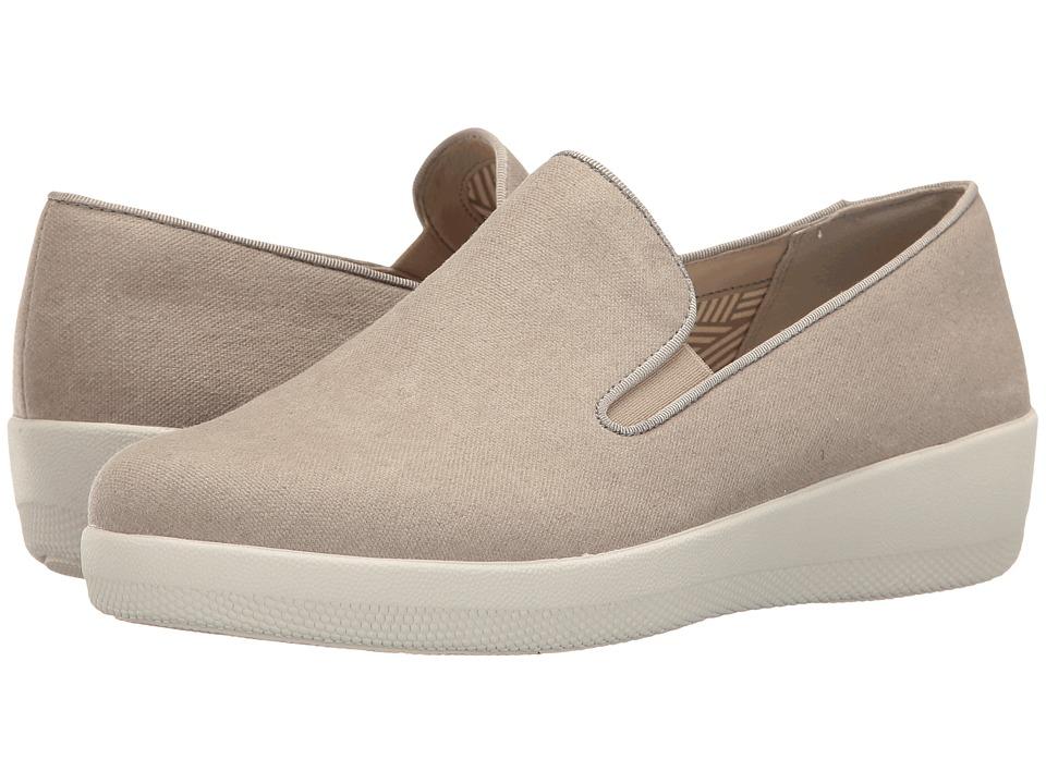 FitFlop - Superskate Denim (Toasty Beige) Women's Shoes