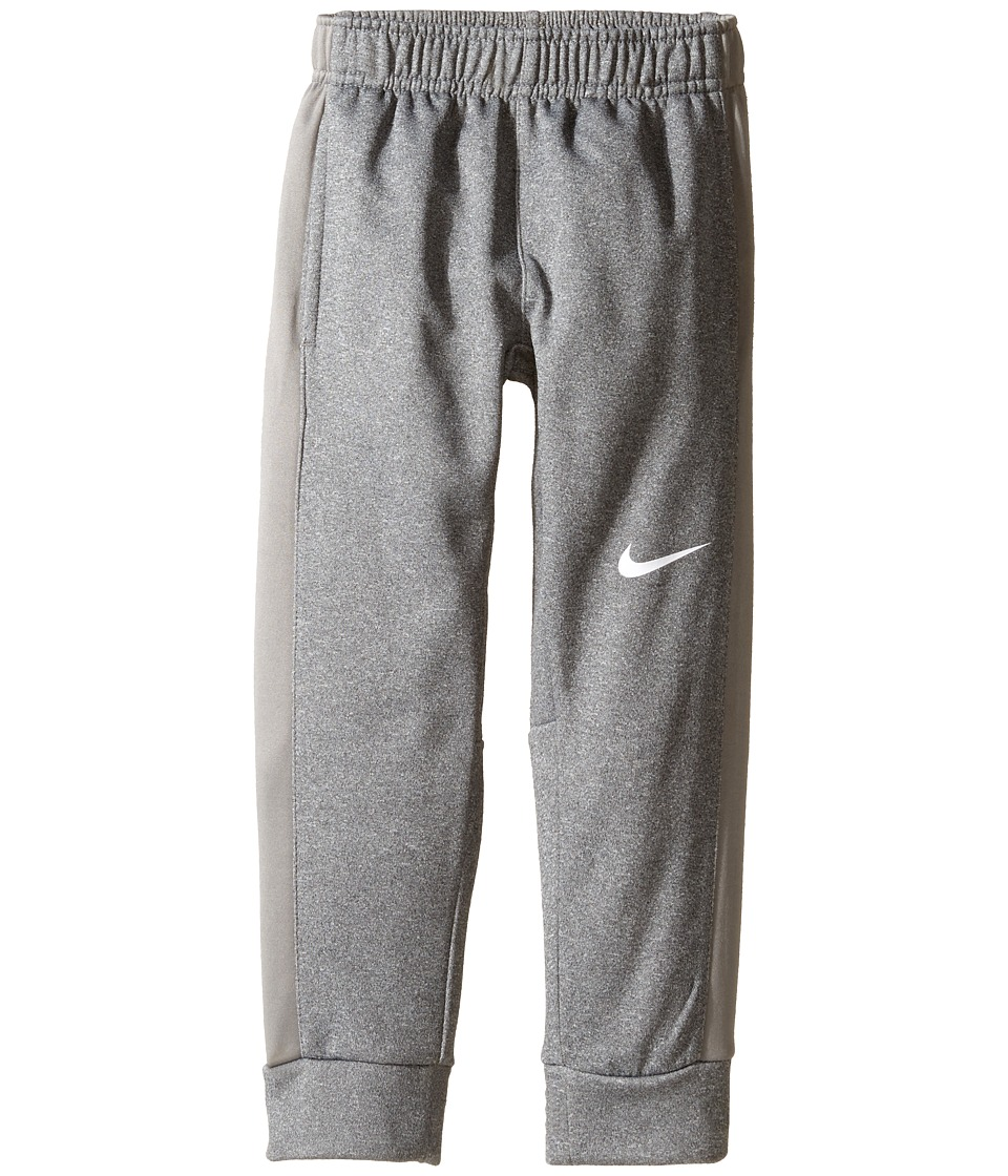 Nike Kids - Therma KO Fleece Tapered Pants (Little Kids) (Dark Grey Heather) Boy's Workout