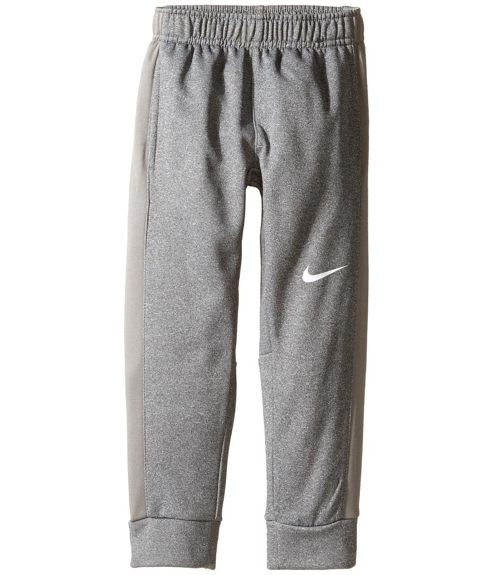 Nike Kids - Therma KO Fleece Tapered Pants (Little Kids) (Dark Grey Heather) Boy's Workout