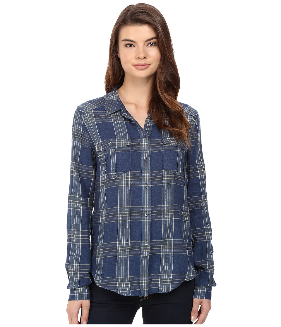 Paige - Mya Shirt (Dark Slate/Blue Stone) Women's Clothing