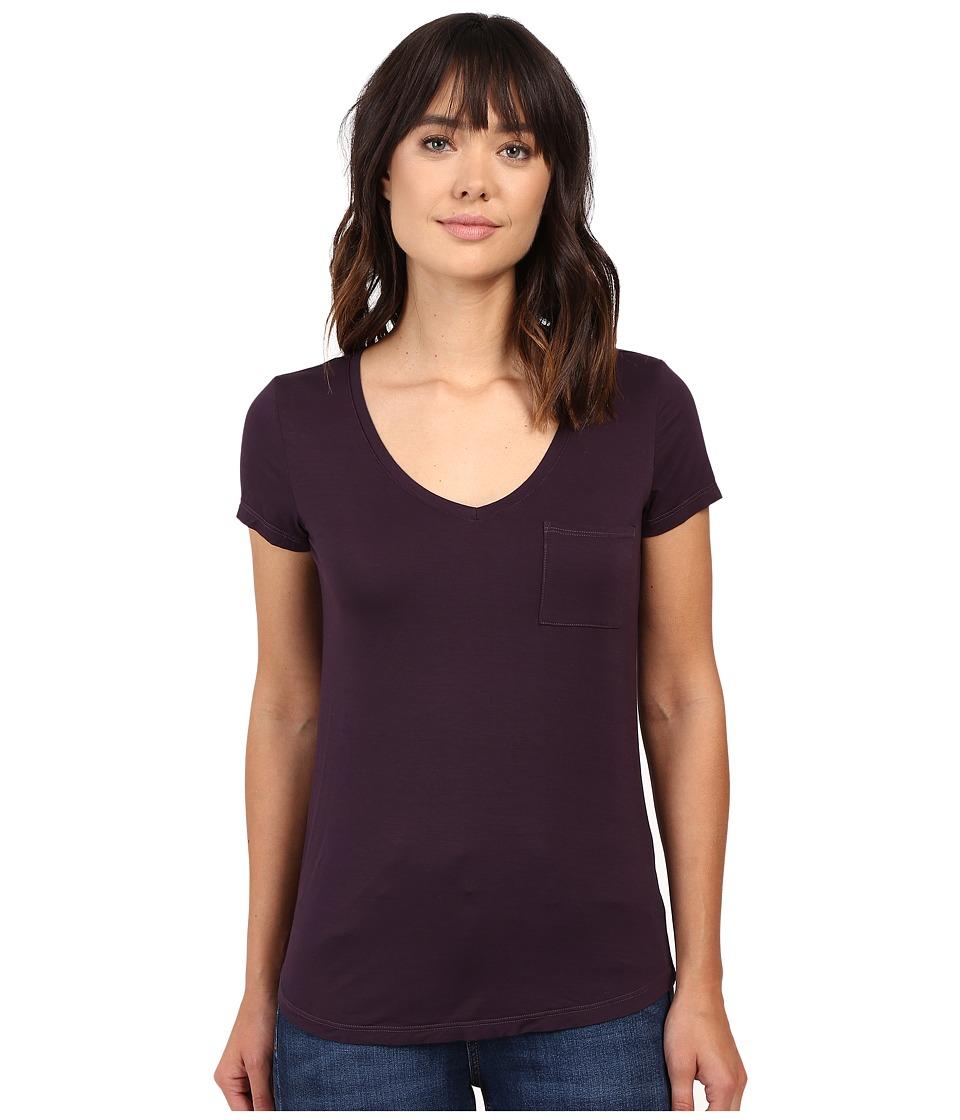 Paige - Lynnea Tee (Vineyard) Women's Short Sleeve Pullover