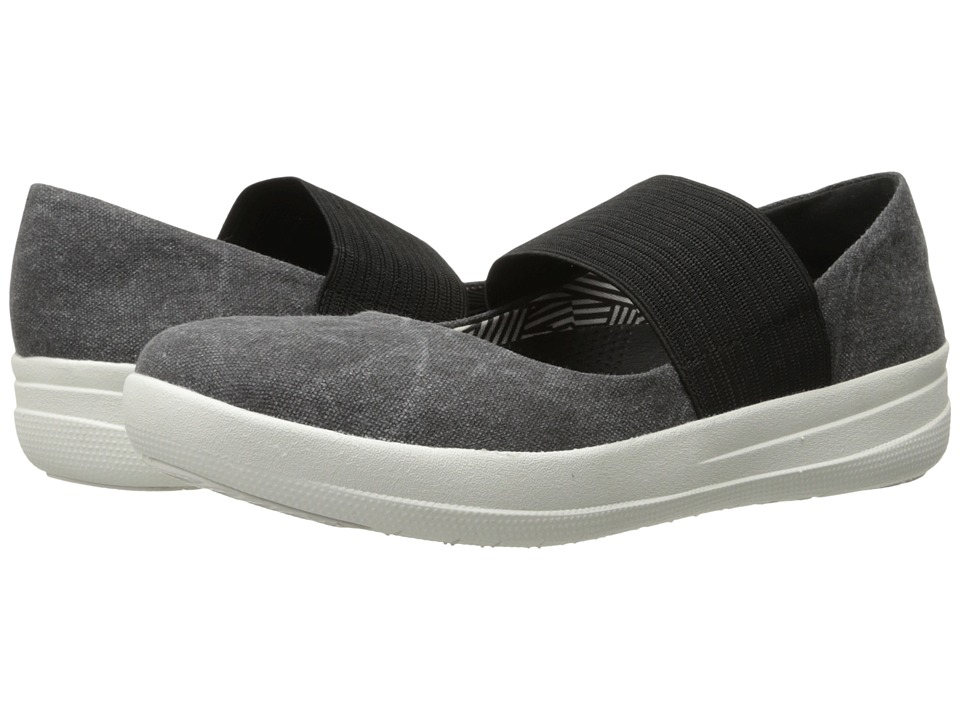 FitFlop - Sporty Mary Jane (Midnight Navy) Women's Lace up casual Shoes