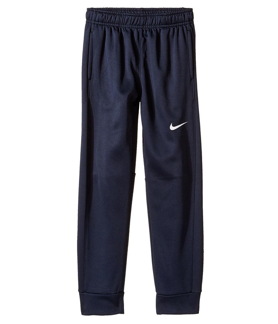 Nike Kids - Therma KO Fleece Tapered Pants (Little Kids) (Obsidian) Boy's Workout