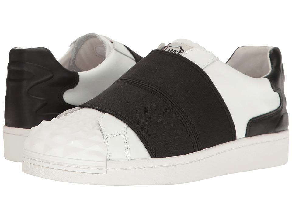 ASH - Clip (White/Black) Women's Shoes