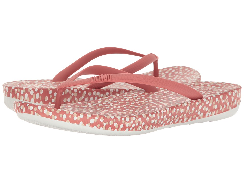 FitFlop - Iqushion Ergonomic Bubbles Flip-Flop (Rosy Bubbles) Women's Sandals